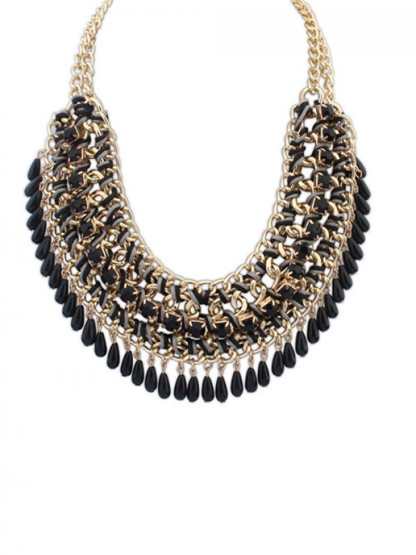 Occident Ethnic Woven Street Shooting Retro Necklace