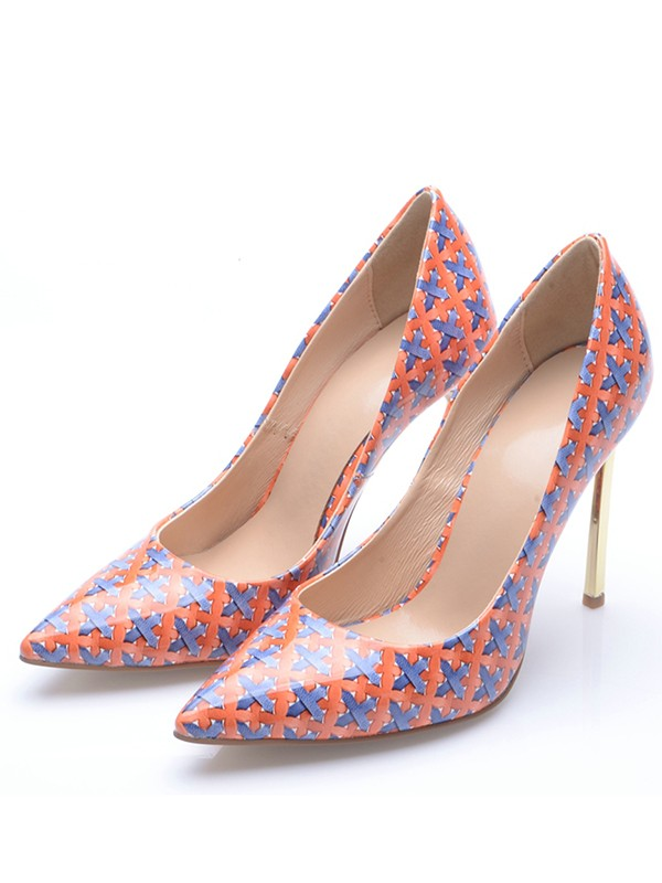 Women's Closed Toe Stiletto Heel Party Shoes