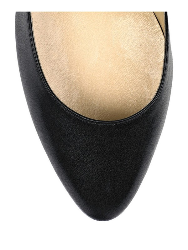 Women's Stiletto Heel Sheepskin Closed Toe Office Shoes