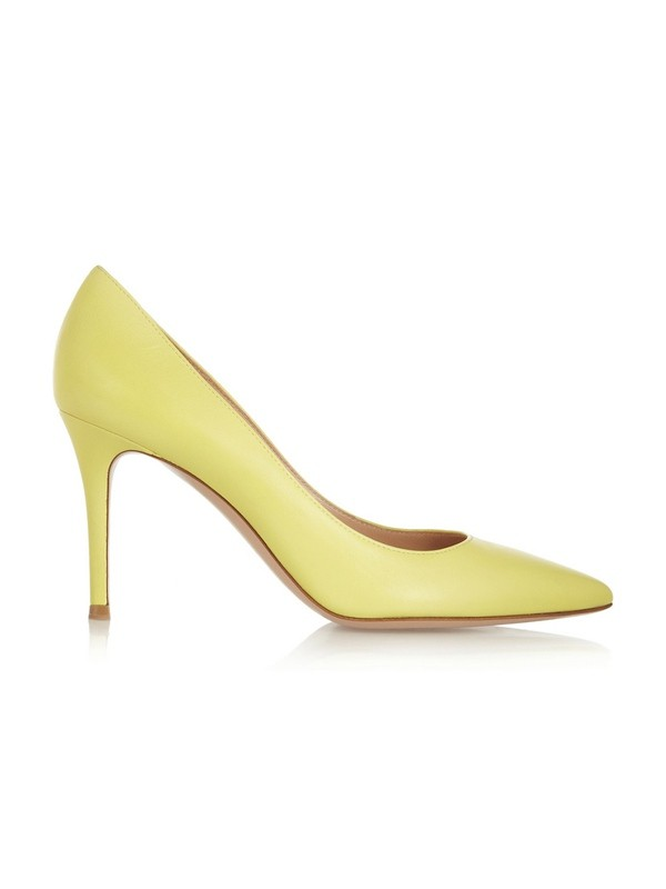 Women's Stiletto Heel Closed Toe Patent Leather Office Shoes
